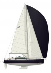 Photo Delphia 46 DS Plan de voile